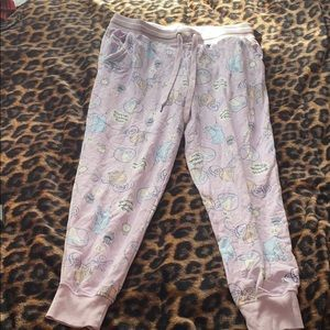 Women's Disney Cinderella Pj pants Size M